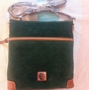 NWT Dooney and Bourke Suede Crossbody